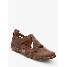 Buy Josef Seibel Rosalie 23 Rip Tape Pumps, Brandy Online at johnlewis.com
