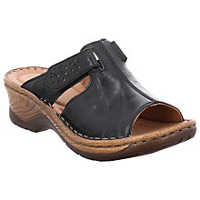 Buy Josef Seibel Catalonia 32 Slip On Sandals Online at johnlewis.com