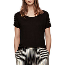 Buy Gerard Darel Taddeo T-Shirt, Black Online at johnlewis.com