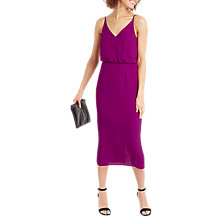 Buy Oasis Plain Midi Dress Online at johnlewis.com