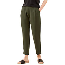 Buy Jigsaw Sandwashed Crepe Wrap Trousers Online at johnlewis.com