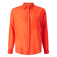Buy Maison Scotch Lightweight Shirt, Orange Online at johnlewis.com