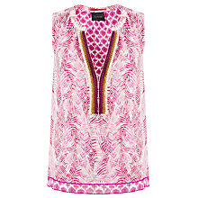Buy Maison Scotch Printed Shell Top, Multi Online at johnlewis.com