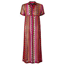 Buy Maison Scotch Sheer Shirt Dress, Multi Online at johnlewis.com