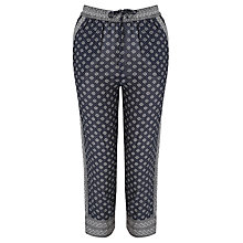 Buy Maison Scotch All-Over Printed Trousers, Navy Online at johnlewis.com