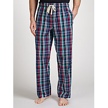 Buy John Lewis Yate Bright Check Lounge Pants, Blue Online at johnlewis.com