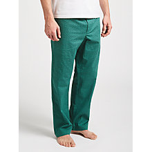 Buy John Lewis Jazzy Print Lounge Pants, Green Online at johnlewis.com