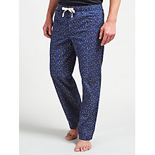 Buy John Lewis Star Print Lounge Pants, Blue Online at johnlewis.com