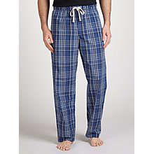 Buy John Lewis Filton Check Lounge Pants, Blue Online at johnlewis.com