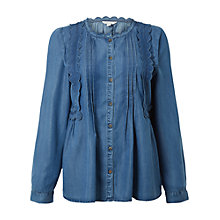 Buy White Stuff Moonlight Top, Denim Online at johnlewis.com