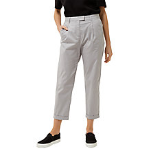 Buy Jaeger Modern Cotton Chinos, Grey Online at johnlewis.com