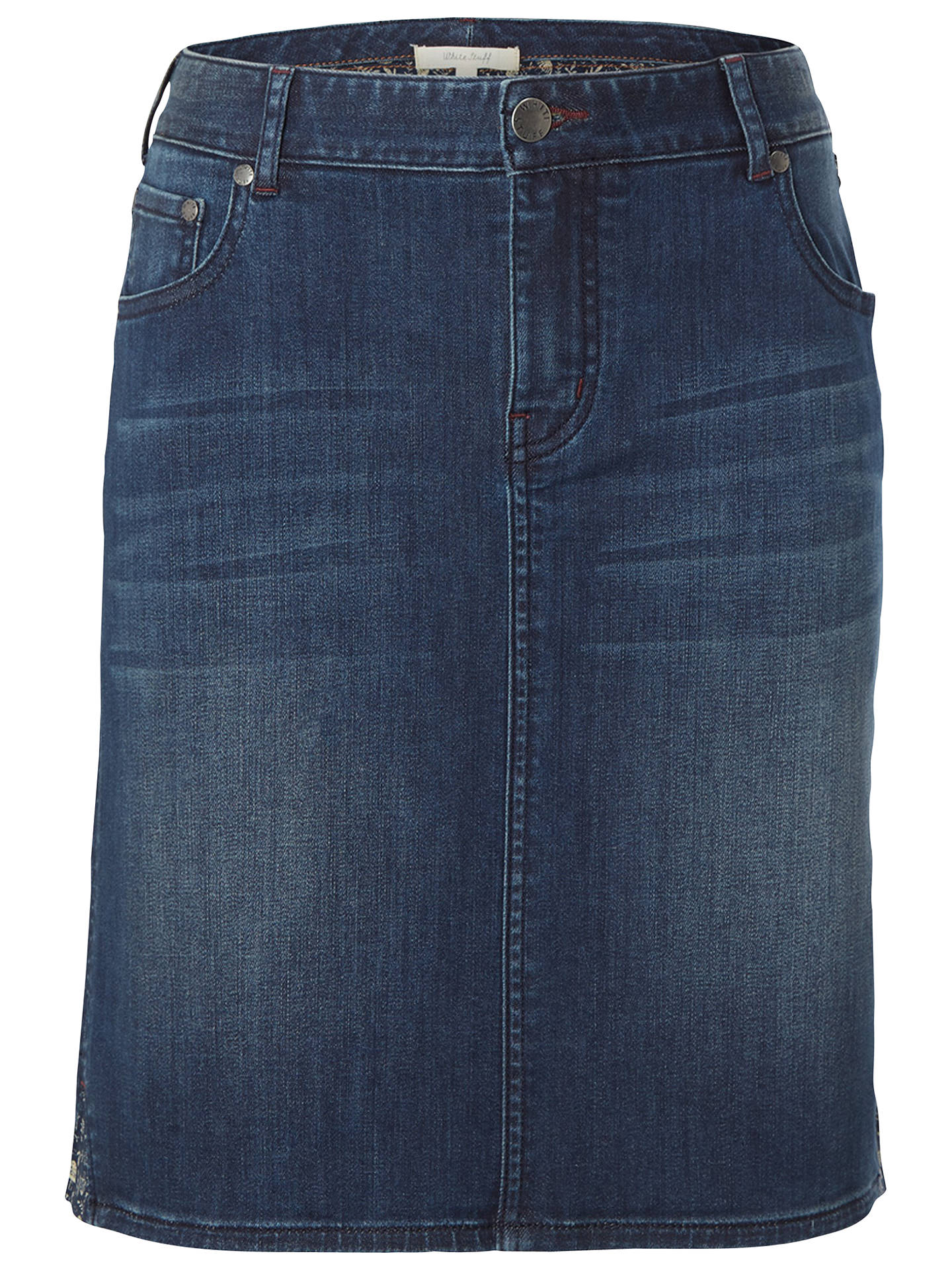 a30eaa5644 Buy White Stuff Country Walk Skirt, Denim, 6 Online at johnlewis.com ...