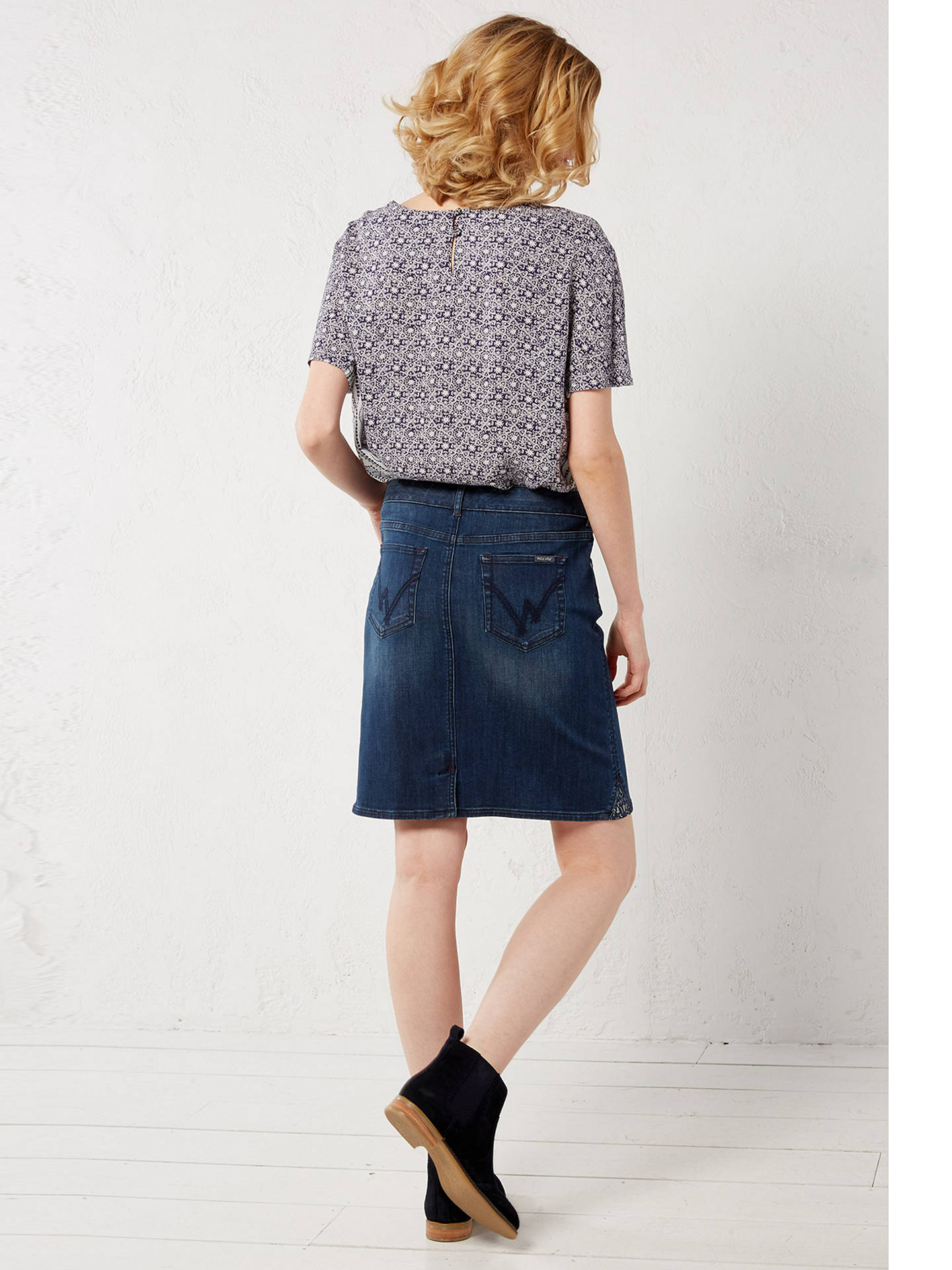 79d551629b ... Buy White Stuff Country Walk Skirt, Denim, 6 Online at johnlewis.com ...