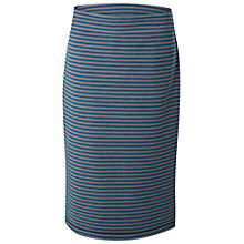 Buy White Stuff Willow Stripe Reversible Skirt, Cavolo Teal Online at johnlewis.com