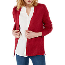 Buy White Stuff Pop Peony Cardigan, Adzuki Red Online at johnlewis.com