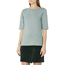 Buy Reiss Joey Metallic Short Sleeve T-Shirt Online at johnlewis.com