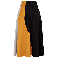 Buy Jaeger Colour Block Panel Skirt, Multi Online at johnlewis.com
