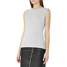 Buy Reiss Jena Top, Silver Grey Online at johnlewis.com