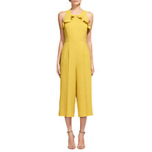 Buy Whistles Mae Frill Detail Jumpsuit Online at johnlewis.com