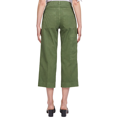 Buy Whistles Cargo Pocket Trousers, Khaki Online at johnlewis.com
