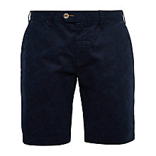 Buy Ted Baker Oldsho Floral Print Slim Chino Shorts, Navy Online at johnlewis.com
