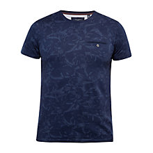 Buy Ted Baker Flowby Floral Cotton T-Shirt Online at johnlewis.com