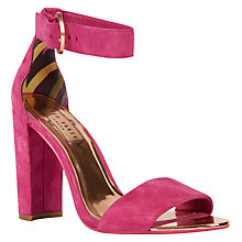 Buy Ted Baker Secoa Block Heeled Sandals Online at johnlewis.com