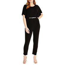 Buy Studio 8 Claudia Jumpsuit, Black Online at johnlewis.com