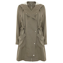 Buy Mint Velvet Deconstructed Parka, Lichen Online at johnlewis.com