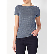Buy John Lewis Short Sleeve Tally Stripe T-Shirt Online at johnlewis.com