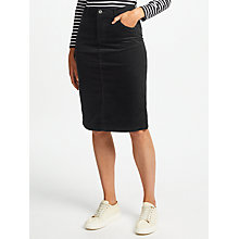 Buy Collection WEEKEND by John Lewis Cord Pencil Skirt Online at johnlewis.com