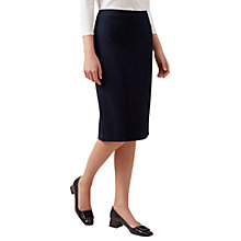 Buy Hobbs Gabi Skirt, Navy Online at johnlewis.com