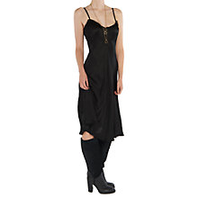 Buy Ghost Janine Dress, Black Online at johnlewis.com