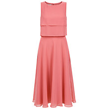 Buy Hobbs Imogen Dress, Confetti Pink Online at johnlewis.com