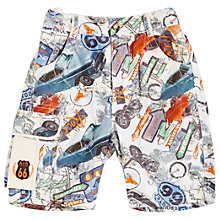 Buy Angel & Rocket Boys' Printed Shorts, Multi Online at johnlewis.com