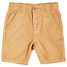 Buy Angel & Rocket Boys' Chino Shorts, Brown Online at johnlewis.com