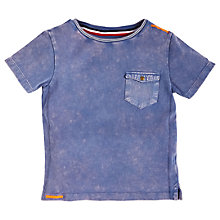 Buy Angel & Rocket Boys' Basic Pocket T-Shirt, Blue Online at johnlewis.com