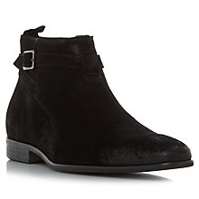 Buy Dune Montana Boots, Black Online at johnlewis.com