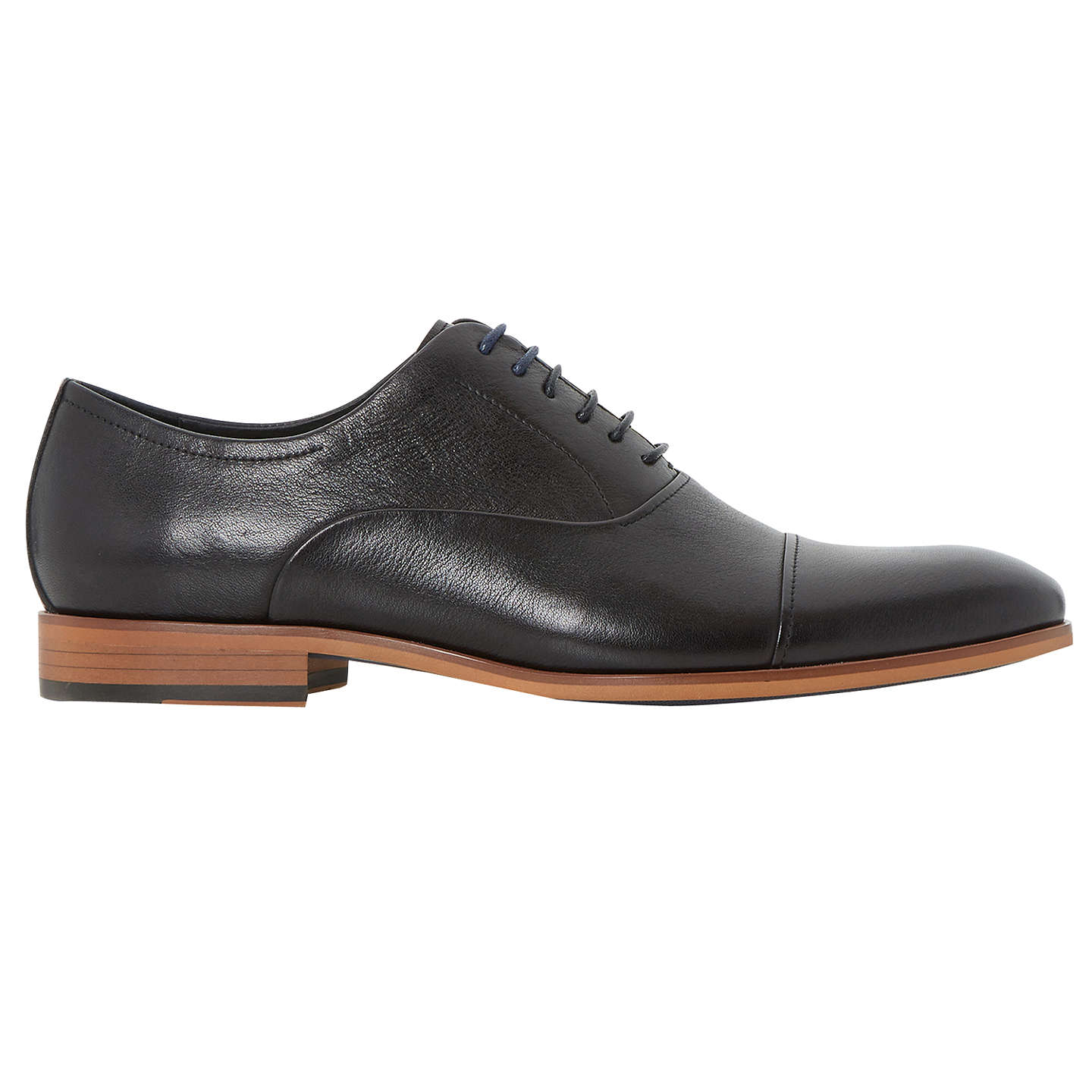 BuyDune Padstow Oxford Shoes, Black, 7 Online at johnlewis.com