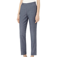 Buy Reiss Russel Slim Leg Trousers, Dark Blue Online at johnlewis.com