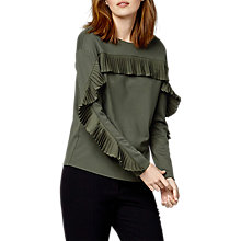 Buy Warehouse Frill Jumper Online at johnlewis.com