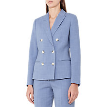 Buy Reiss Miller Tailored Jacket, Light Blue Online at johnlewis.com