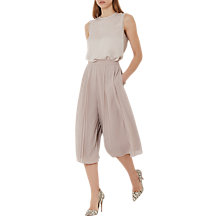 Buy Reiss Longline Julie Culottes, Orchid Blossom Online at johnlewis.com
