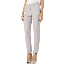 Buy Reiss Virginia Trousers, Pink Grey Online at johnlewis.com