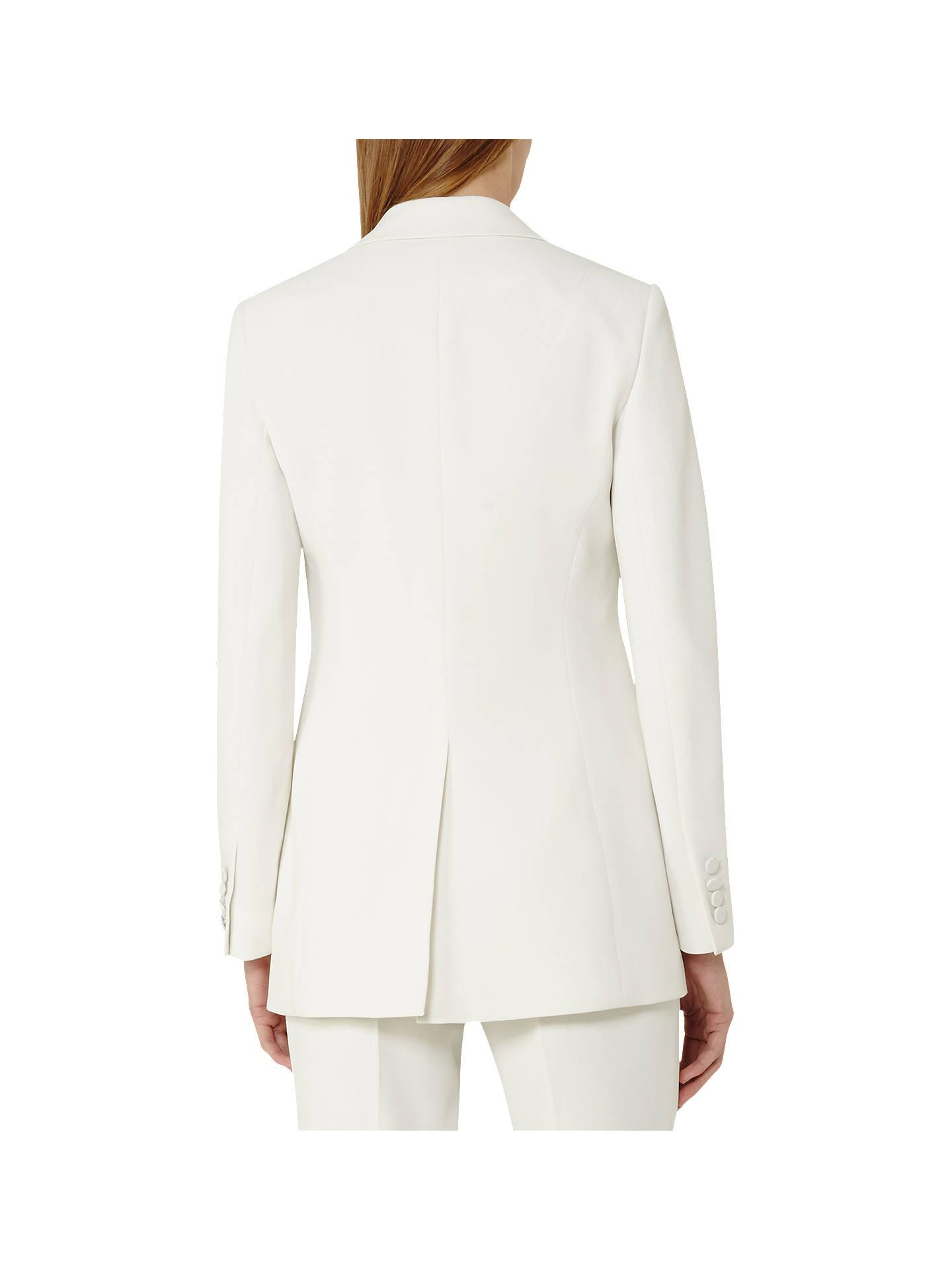 Reiss Women's Rox Jacket Off White
