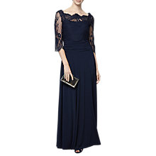 Buy Phase Eight Romily Lace Dress, Navy Online at johnlewis.com