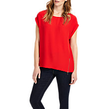 Buy Phase Eight Maddy Double Zip Blouse Online at johnlewis.com