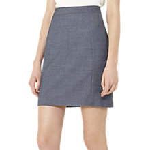 Buy Reiss Russel Fitted Skirt, Dark Blue Online at johnlewis.com