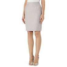 Buy Reiss Virginia Tailored Skirt, Pink Grey Online at johnlewis.com