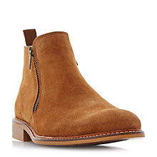 Buy Dune Cassidy Suede Boots, Tan Online at johnlewis.com